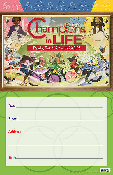 Vacation Bible School (VBS) 2020 Champions in Life Promo Poster
