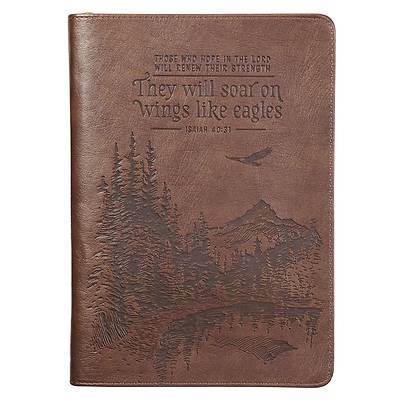 Picture of Journal They Will Soar on Wings Tan Isaiah 40
