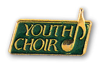 Pin Youth Choir Gold Green