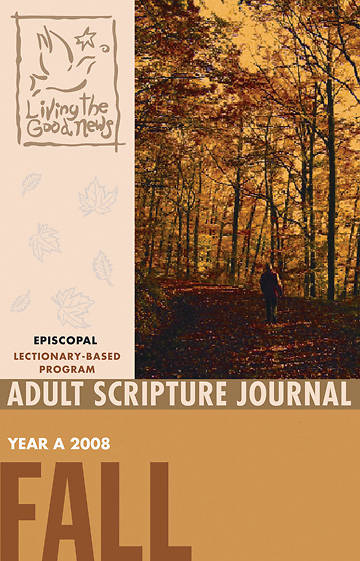 Picture of Living the Good News Fall Adult Scripture Journal 2008 [Episcopal Version]