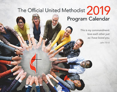 2019 Official United Methodist Program Calendar Classic Edition (spiral bound)