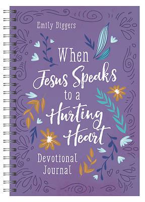 Picture of When Jesus Speaks to a Hurting Heart Devotional Journal