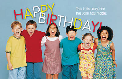 Picture of Happy Birthday Postcard (Package of 25)
