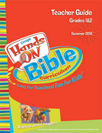 Picture of Group's Hands-On Bible Curriculum Grades 1 and 2 Teacher Guide Summer 2010