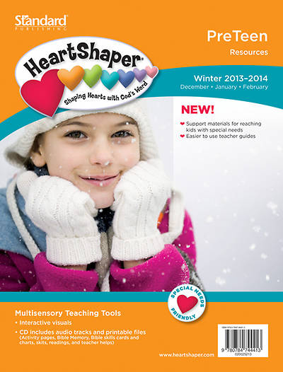 Standard HeartShaper Preteen Resources Winter 2013-2014