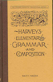 Picture of Harvey's Elementary Grammar and Composition