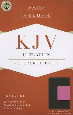 Picture of Ultrathin Reference Bible-KJV-Magnetic Closure