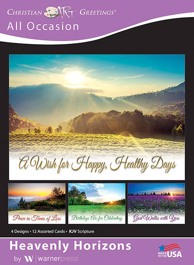 Picture of Heavenly Horizons All Occasion Boxed Cards (Box of 12)