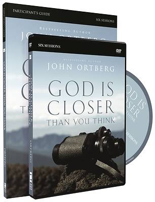 Picture of God Is Closer Than You Think Participant's Guide with DVD