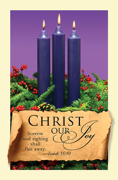 Advent Purple Sunday 3 Bulletin 2011, Regular (Package of 50)