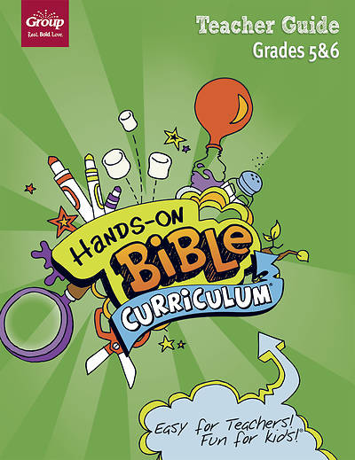 Picture of Hands-On Bible Grades 5-6 Teacher Guide Summer 2020