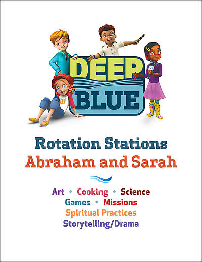 Picture of Deep Blue Rotation Stations: Abraham and Sarah - Entire Unit Download