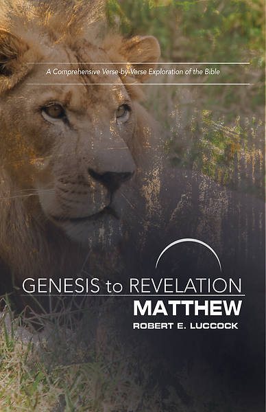 Picture of Genesis to Revelation: Matthew Participant Book