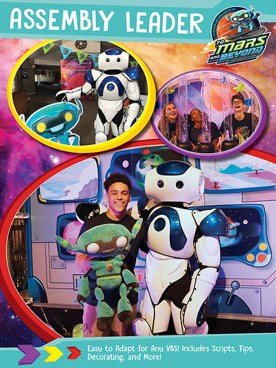 Picture of Vacation Bible School (VBS) 2019 To Mars and Beyond Assembly Leader Download
