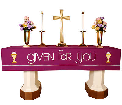 Abbott Hall Vision Series NAF5458 Lent Altar Frontal