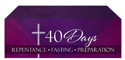 Picture of 40 Days Lent Altar Frontal
