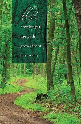 Oh How Bright the Path Hymn Bulletin (Pkg of 50)