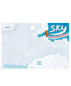 Group Vacation Bible School 2012 Sky Name Badges (pkg of 10)