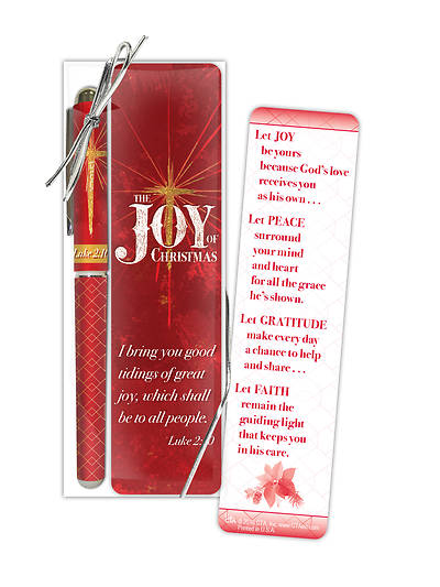 The Joy of Christmas Pen & Bookmark Gift Set