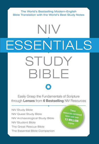Picture of NIV Essentials Study Bible