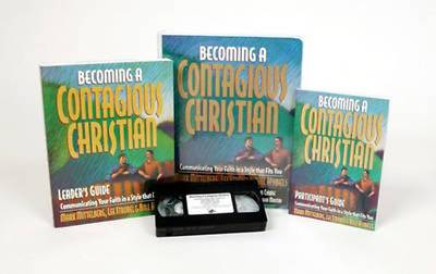 Becoming a Contagious Christian Curriculum [With Leaders Guide & 6 Participants Guides and 60 Minute Video and Overhead Masters]
