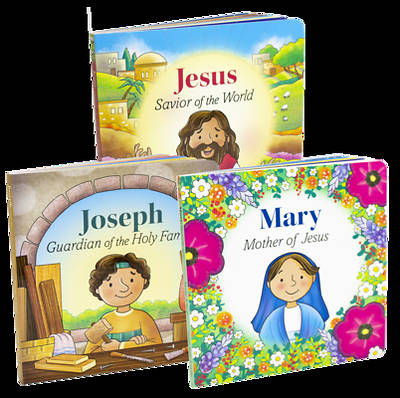 Picture of Jesus Mary and Joseph BB Set