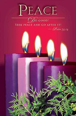 Advent Sunday 4 Peace Bulletin 2014 (Pkg of 50)