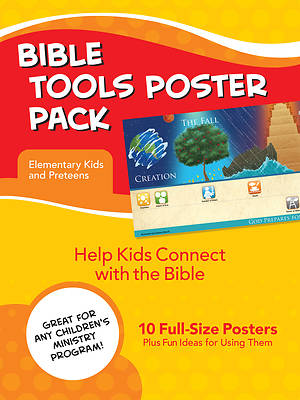Picture of Bible Tools Poster Pack for Elementary Kids