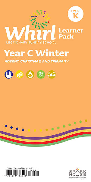 Whirl Lectionary PreK-Kindergarten Learner Leaflet Winter Year C