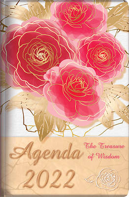 Picture of The Treasure of Wisdom - 2022 Daily Agenda - Red Roses