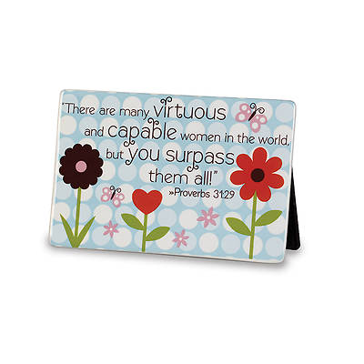 Dot Series - Mom You Surpass Them All Plaque