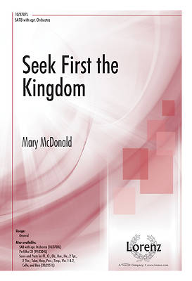 Seek First the Kingdom SATB Anthem