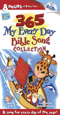 365 My Every Day Bible Song Collection