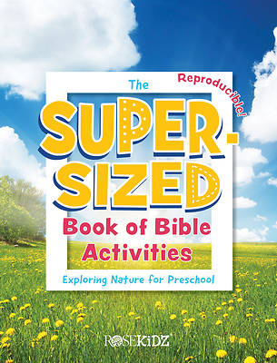 Picture of The Super-Sized Book of Bible Activities