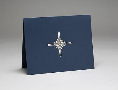 Certificate Folder Navy Pack of 5
