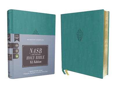 Picture of Nasb, Holy Bible, XL Edition, Leathersoft, Teal, 1995 Text, Comfort Print