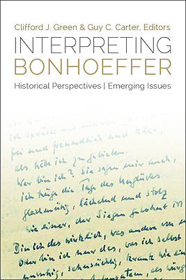Interpreting Bonhoeffer