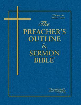 Picture of The Preacher's Outline & Sermon Bible: Habakkuk - Malachi