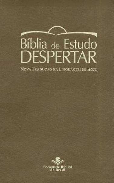 Portuguese Life Recovery Study Bible Ntlh (Brown)