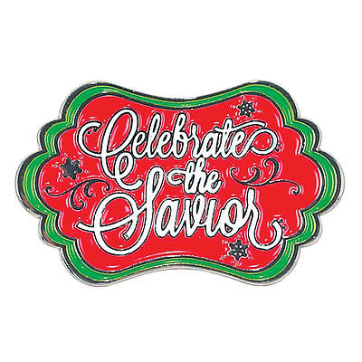 Celebrate the Savior Lapel Pin