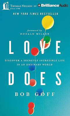 Love Does Audiobook - CD