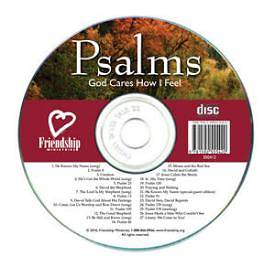 Picture of Psalms: God Cares How I Feel CD