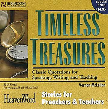 Timeless Treasures CD-ROM