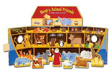 Noahs Animal Friends Playset