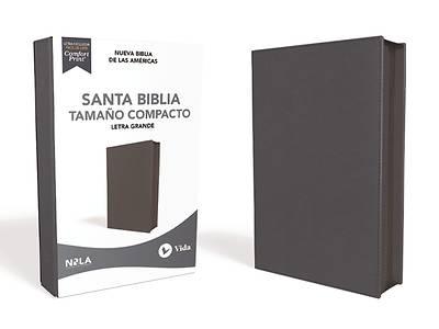 Picture of Nbla Santa Biblia, Letra Grande, Tamaño Compacto, Piel Fabricada, Azul Marino, Con Cierre, Edición Letra Roja