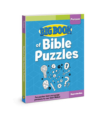 Picture of Big Book of Bible Puzzles for Preteens ( Big Books )