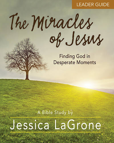 The Miracles of Jesus Women's Bible Study Leader Guide