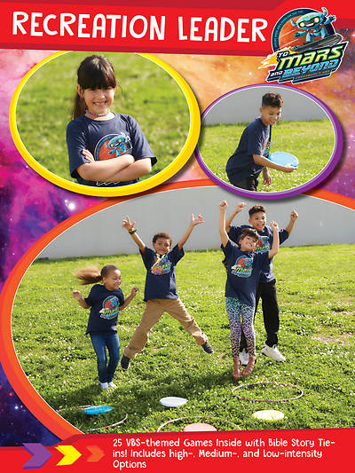 Picture of Vacation Bible School (VBS) 2019 To Mars and Beyond Recreation Leader Download