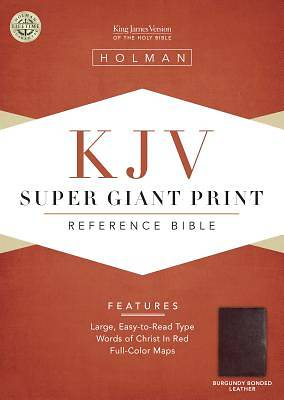 Picture of KJV Super Giant Print Reference Bible
