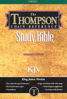 Picture of Thompson Chain Reference King James Version Bible